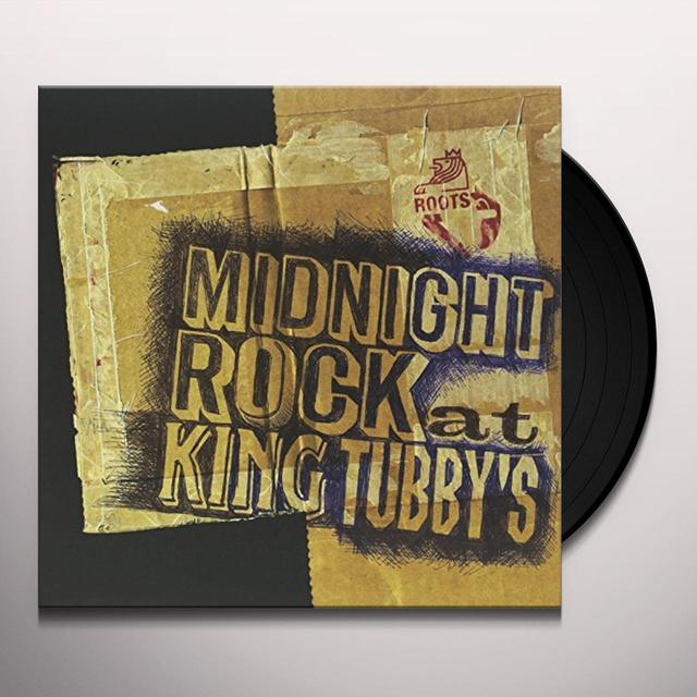 MIDNIGHT ROCK AT KING TUBBY'S Vinyl Record - UK Import