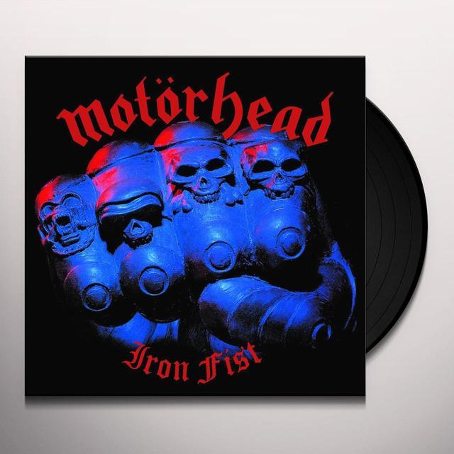 Motorhead IRON FIST Vinyl Record - UK Import