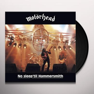 Motorhead NO SLEEP 'TIL HAMMERSMITH Vinyl Record - UK Release
