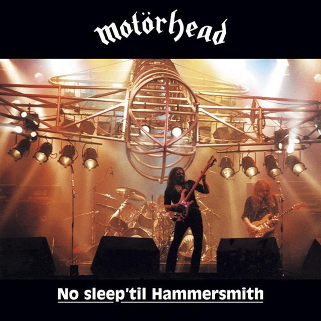 Motorhead NO SLEEP 'TIL HAMMERSMITH Vinyl Record - UK Import