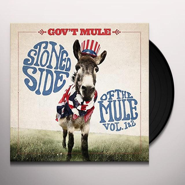 Govt Mule STONED SIDE OF THE MULE Vinyl Record - UK Import