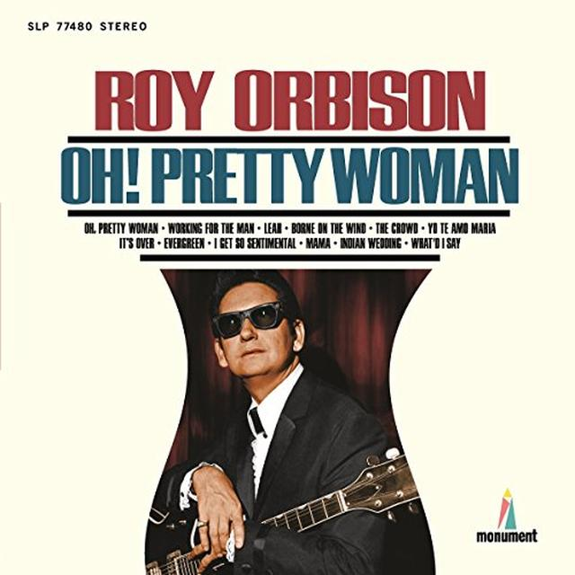 Roy Orbison OH PRETTY WOMAN Vinyl Record - Holland Import