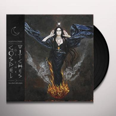 KARYN CRISIS GOSPEL OF THE WITCHES SALEM'S WOUNDS Vinyl Record