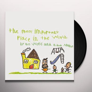 Aidan Moffat, Bill Wells MOST IMPORTANT PLACE IN THE WORLD Vinyl Record