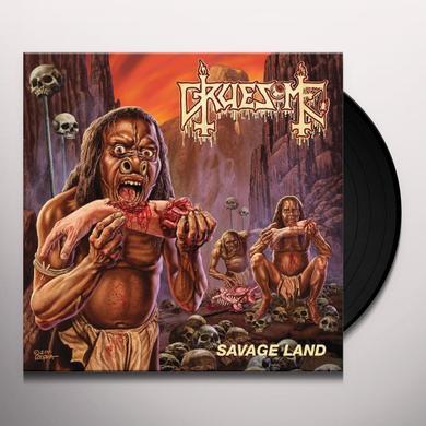 GRUESOME SAVAGE LAND Vinyl Record