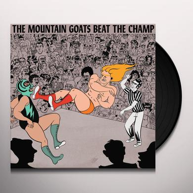 The Mountain Goats BEAT THE CHAMP Vinyl Record - Digital Download Included