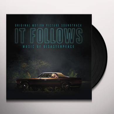 DISASTERPEACE (DLCD) IT FOLLOWS / O.S.T. Vinyl Record