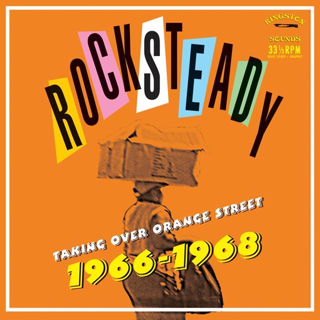 ROCKSTEADY TAKING OVER ORANGE STREET / VAR Vinyl Record