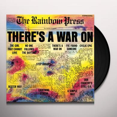 RAINBOW PRESS THERE'S A WAR ON Vinyl Record
