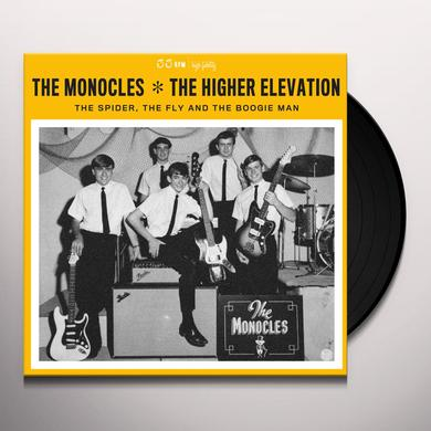 MONOCLES / HIGHER ELEVATION SPIDER THE FLY & THE BOOGIE MAN Vinyl Record