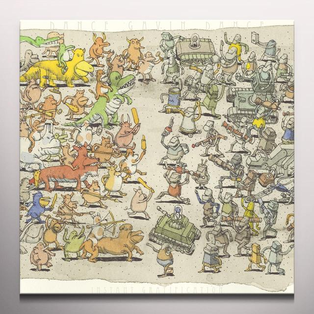 Dance Gavin Dance INSTANT GRATIFICATION Vinyl Record