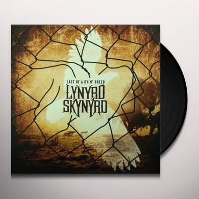 Lynyrd Skynyrd LAST OF A DYIN BREED Vinyl Record
