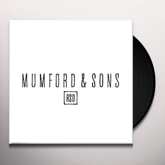 Mumford & Sons BELIEVE Vinyl Record