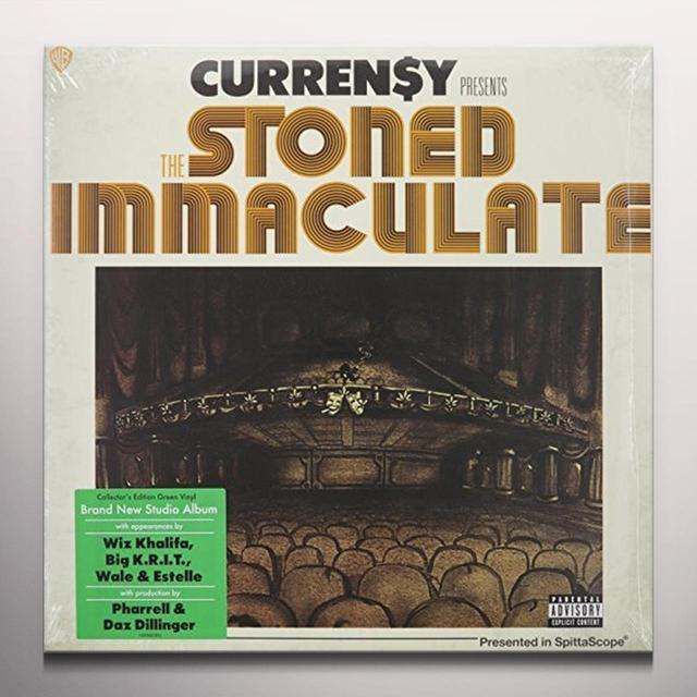 CURRENSY ( CURREN$Y ) STONED IMMACULATE Vinyl Record