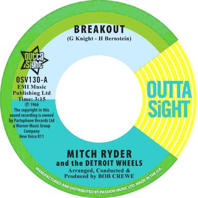 Mitch Ryder BREAKOUT / YOU GET YOUR KICKS Vinyl Record