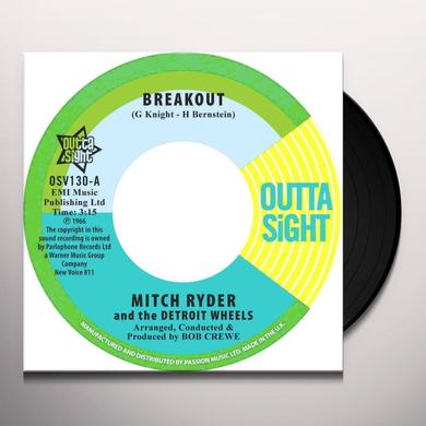 Mitch Ryder BREAKOUT / YOU GET YOUR KICKS Vinyl Record - UK Import