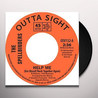 Spellbinders HELP ME / CHAIN REACTION Vinyl Record