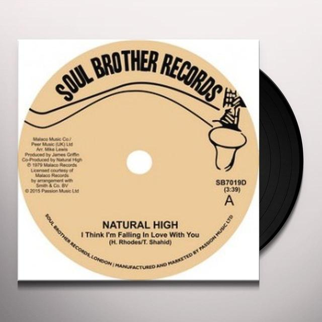 Natural High I THINK I'M FALLING IN LOVE WITH YOU / TRUST IN ME Vinyl Record