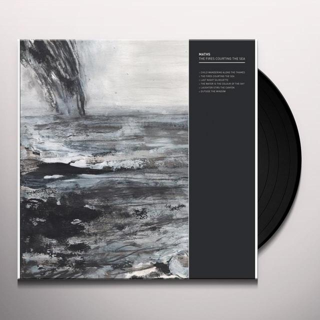 Maths FIRES COURTING THE SEA Vinyl Record