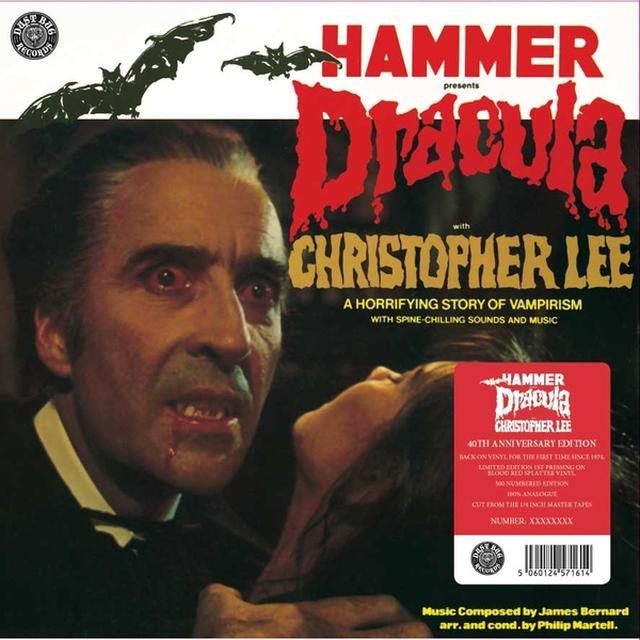 DRACULA: LIMITED / O.S.T. (UK) DRACULA: LIMITED / O.S.T. Vinyl Record - UK Import