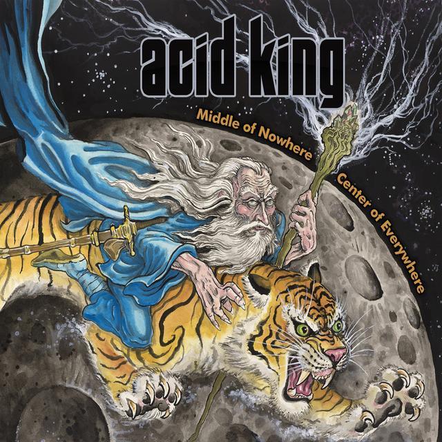 Acid King MIDDLE OF NOWHERE (BLUE VINYL) Vinyl Record - Colored Vinyl, UK Import