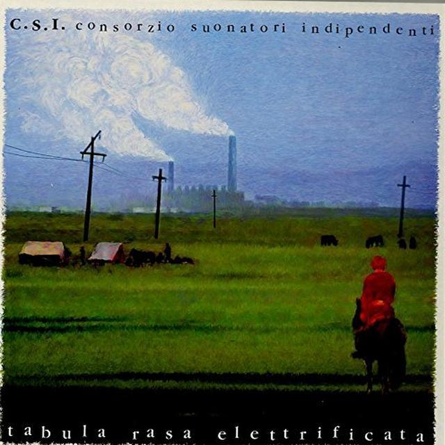 C.S.I. TABULA RASA ELETTRIFICATA Vinyl Record - Italy Import