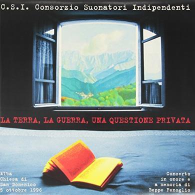 C.S.I. LA TERRA LA GUERRA UNA QUESTIONE PRIVATA Vinyl Record - Italy Release