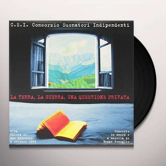 C.S.I. LA TERRA LA GUERRA UNA QUESTIONE PRIVATA Vinyl Record - Italy Import