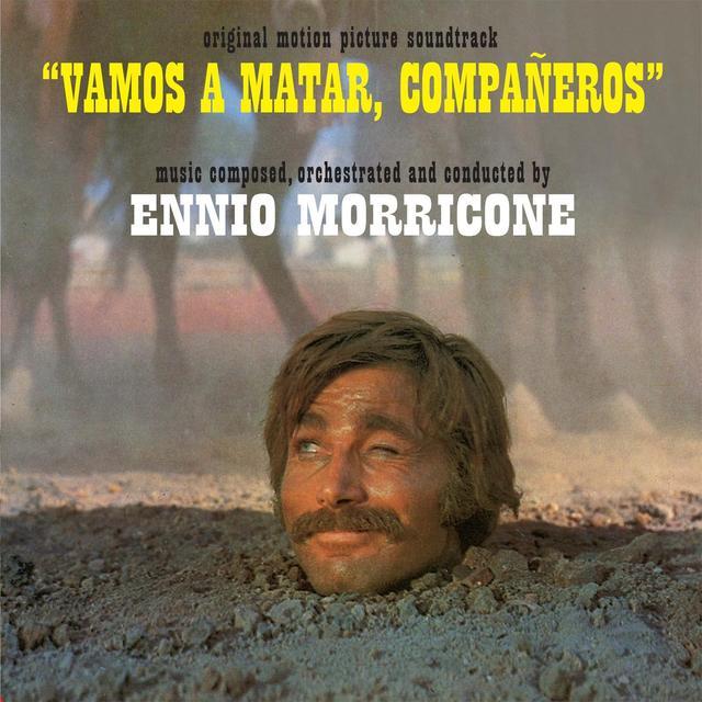 VAMOS A MATAR COMPANEROS / O.S.T. (ITA) VAMOS A MATAR COMPANEROS / O.S.T. Vinyl Record - Italy Import