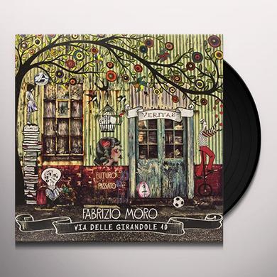 Fabrizio Moro VIA DELLE GIRANDOLE 10 Vinyl Record