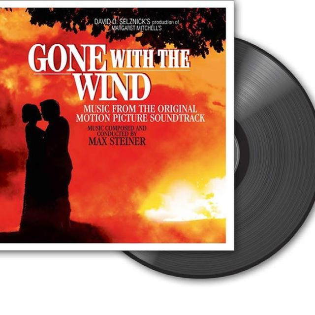 Max Steiner GONE WITH THE WIND Vinyl Record - Holland Import