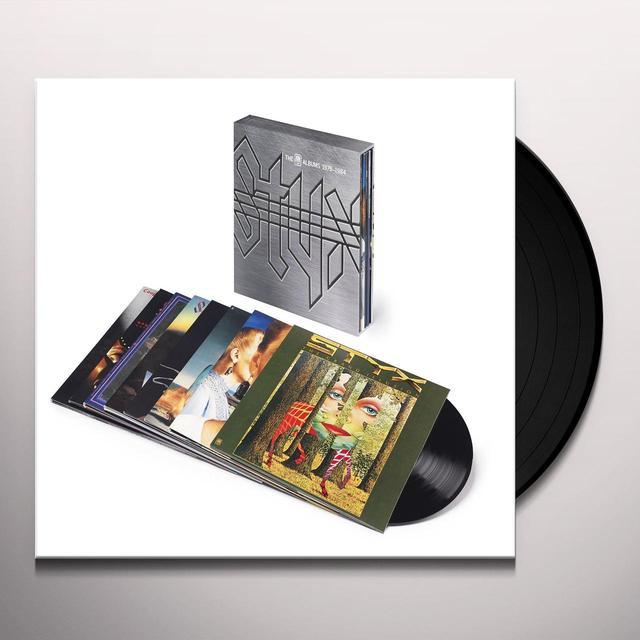 Styx A&M YEARS 1975-84 Vinyl Record - UK Import