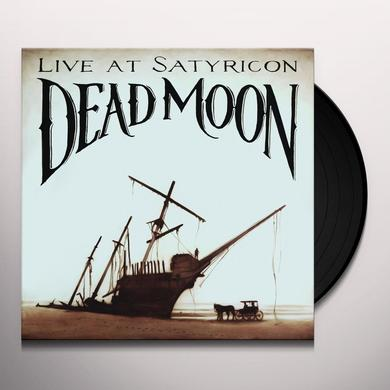 Dead Moon TALES FROM THE GREASE TRAP 1: LIVE AT SATYRICON Vinyl Record