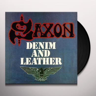 Saxon DENIM & LEATHER Vinyl Record