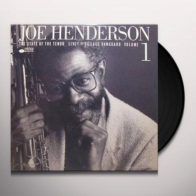 Joe Henderson STATE OF THE TENOR: LIVE AT THE VILLAGE VANGUARD 1 Vinyl Record