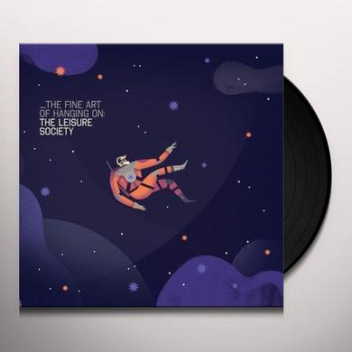 The Leisure Society FINE ART OF HANGING ON Vinyl Record - Gatefold Sleeve