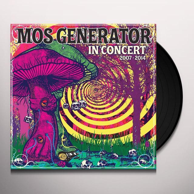 Mos Generator IN CONCERT 2007 - 2014 Vinyl Record