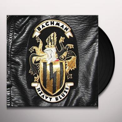 Bachman HEAVY BLUES Vinyl Record
