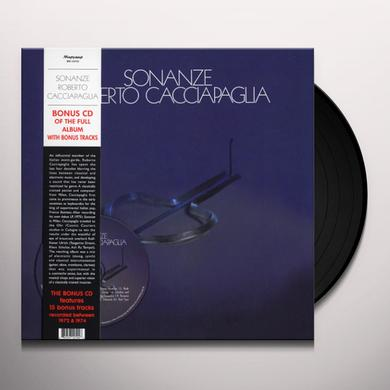 Roberto Cacciapaglia SONANZE Vinyl Record - w/CD