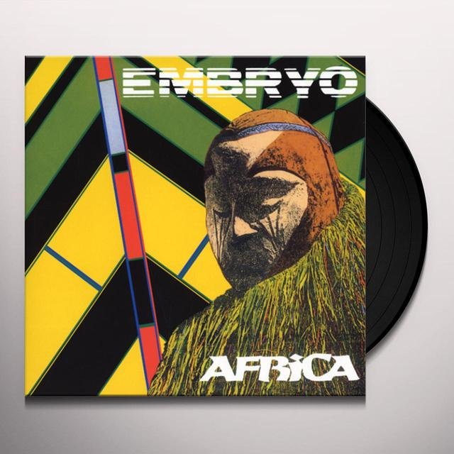 Embryo AFRICA Vinyl Record - w/CD