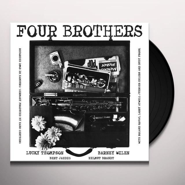 Lucky Thompson & Barney Wilen FOUR BROTHERS Vinyl Record