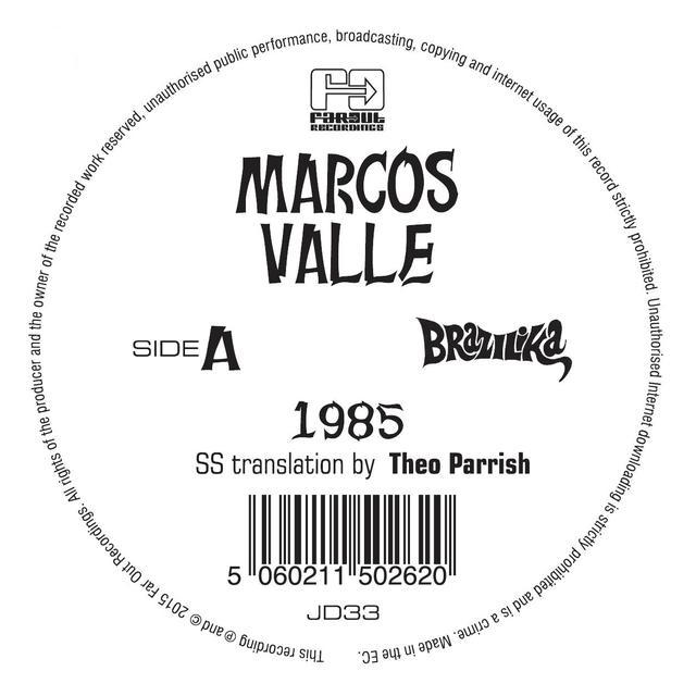 Theo Parrish / Daz I Kue 1985 / PREFIXO REMIXES Vinyl Record