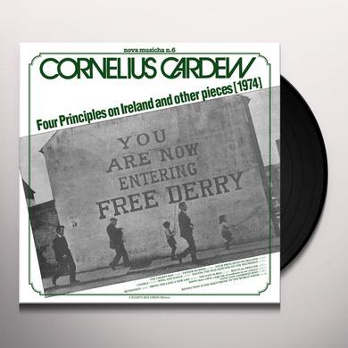 Cornelius Cardew NOVA MUSICHA NO. 6: FOUR PRINCIPLES ON IRELAND Vinyl Record