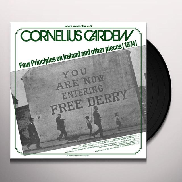 Cornelius Cardew NOVA MUSICHA NO. 6: FOUR PRINCIPLES ON IRELAND Vinyl Record