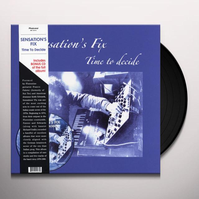 Sensations Fix TIME TO DECIDE Vinyl Record - w/CD