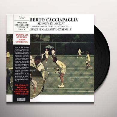 Roberto Cacciapaglia SEI NOTE IN LOGICA Vinyl Record