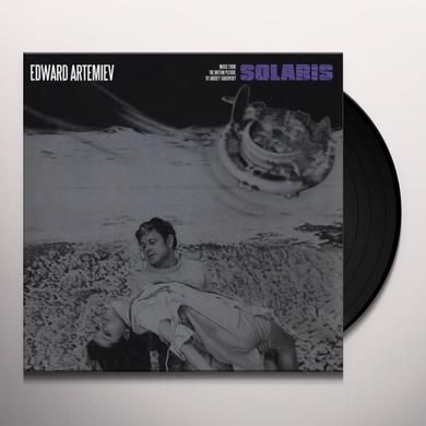 Edward Artemiev SOLARIS: MUSIC FROM THE MOTION PICTURE BY ANDREY Vinyl Record