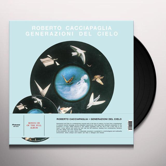 Roberto Cacciapaglia GENERAZIONI DEL CIELO Vinyl Record - w/CD