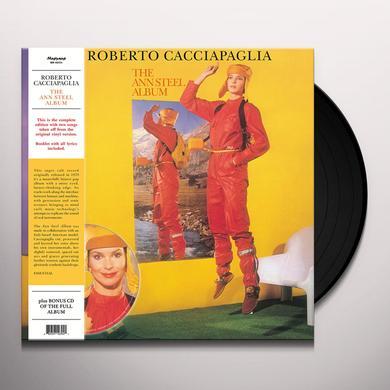 Roberto Cacciapaglia ANN STEEL ALBUM Vinyl Record - w/CD