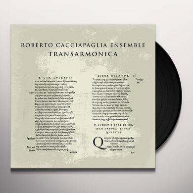 Roberto Cacciapaglia TRANSARMONICA Vinyl Record